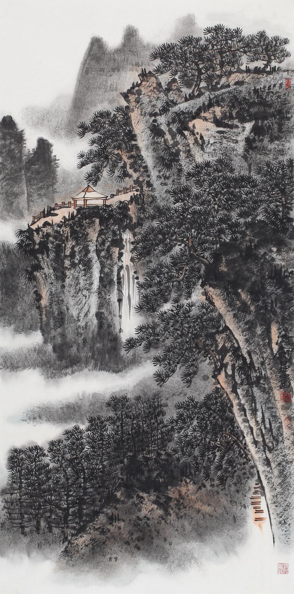 《山高水长》