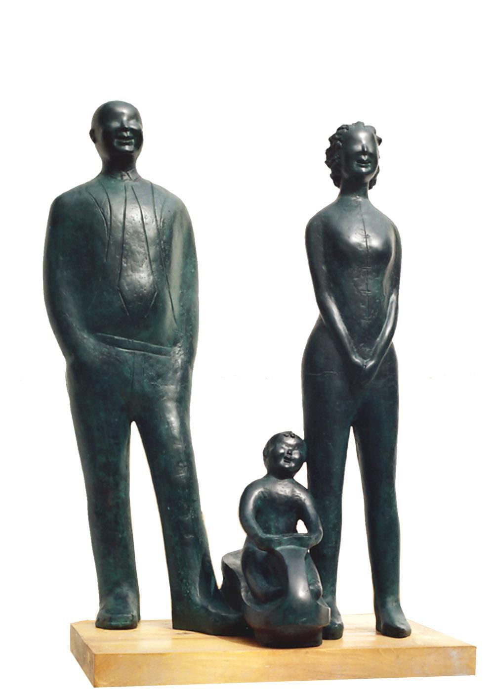 《家庭亲情系列—三口之家》