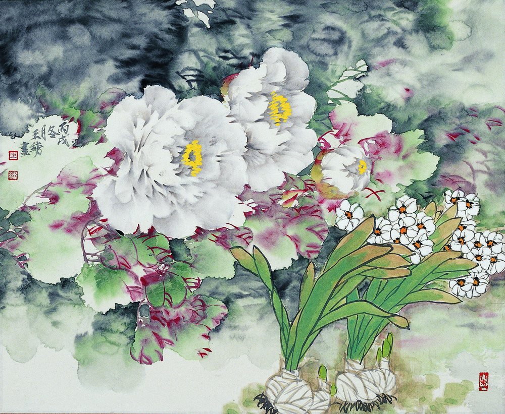 白牡丹水仙