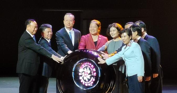 第四届中国杂技艺术节在濮阳开幕